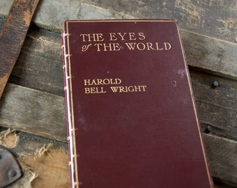 1914 EYES of the WORLD Vintage Lined Notebook Journal