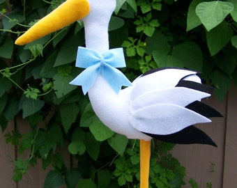 Stork Baby Shower Centerpiece, Baby Shower centerpice, baby boy, baby girl, baby shower centerpiece, Stork centerpiece