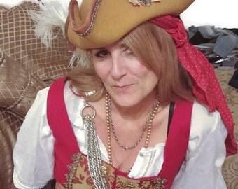Pirate Tri-Corn Custom Hat