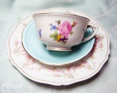 Tea Trio Luncheon Set - Mix and Match China with Paragon and Haviland Limoges France