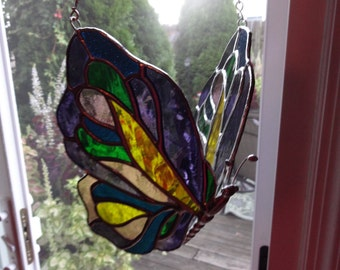 CUSTOM - Stained Glass Butterfly