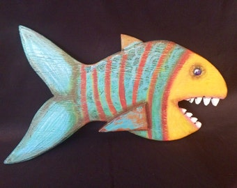 Fishy  -  A Recycled Creature