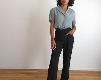 Vintage black dress pants