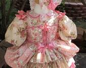 Custom Little Bo Peep Costume/Edwardian/Mary Had Lamb/ Pageant Themewear OOC - Made to Order