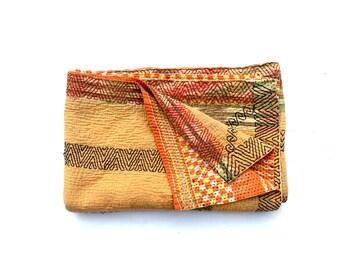 kantha quilt, vintage kantha quilt, indian quilt, kantha throw, coverle