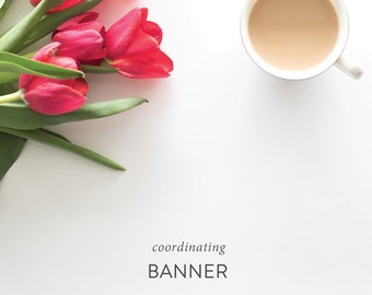 Coordinating Party Banner - Match Any Shower or Party Theme - Digital File