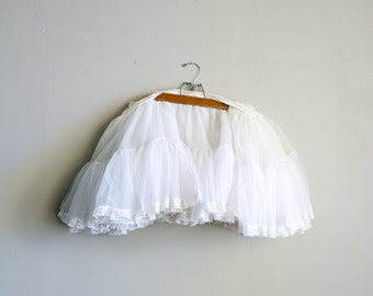 Vintage Short Petticoat
