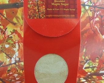 NEW : 24 oz Granulated Maple Sugar