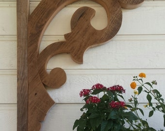 Corbels, Victorian reproduction, reclaimed lumber