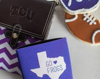 Go Frogs Can Cooler