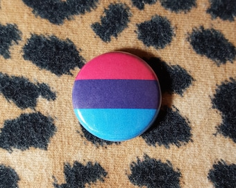 Androgyne Flag Pinback Button or Magnet