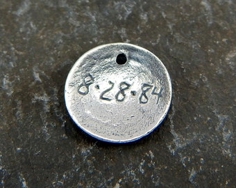 Engraving, Personalization, Name & Date Engraving, Inscription