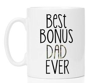 Best bonus dad ever, Step dad mug, Dad gift