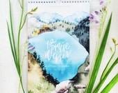 PREORDER: 12 Praise Verses 2017 Calendar
