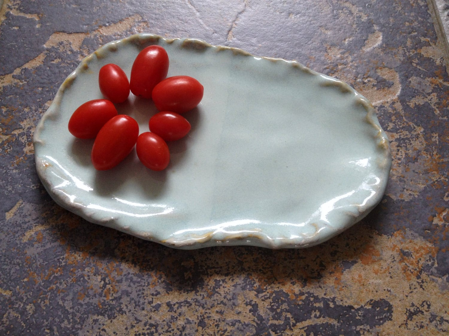 Ceramic cheese board serving platter porcelain tray canapes for Canape serving platters