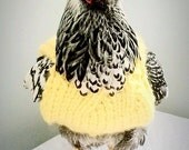 Chicken Sweater, Sweater for Chickens and Roosters, Sweater for Chickens, Chicken Clothes