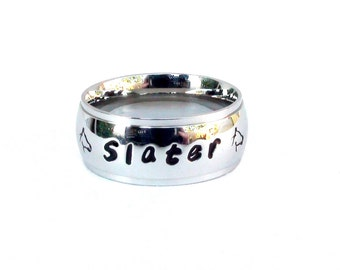 Horse Ring- Personalize Me Horse Ring Hand Stamped horse design Custom Horse Ring equestrian jewelry horse gift love Of horses Horse Jewelry