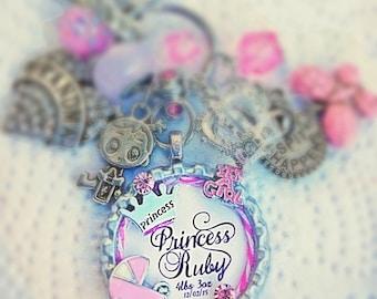 "Princess ""Baby Girl"" Keychain/Diaper Bag Bling"