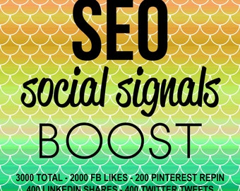 CUSTOM Seo Sem Search Engine Optimization Search Engine Marketing Social Signals for Website Blog Rank Higher on Google searches!