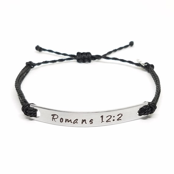 string bracelet christianity personalized bible verse bracelet sted string 9068