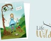 Carte Postale | Alice in Wonderland