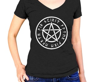 Wiccan Clothing - Pentagram Shirt - Pentacle Star - Pagan Shirt - Witch Shirt - Pagen Clothing - Wicca Shirt - Witch Clothing - Witchcraft