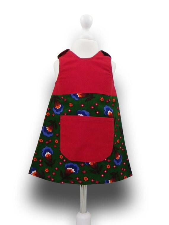 Line toddler winter dress christmas dress 18 24 months baby girl