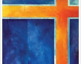 "Painting – 18""x24"" – MEDITATION 1"