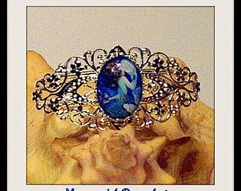 Mermaid Cabochon Bracelet