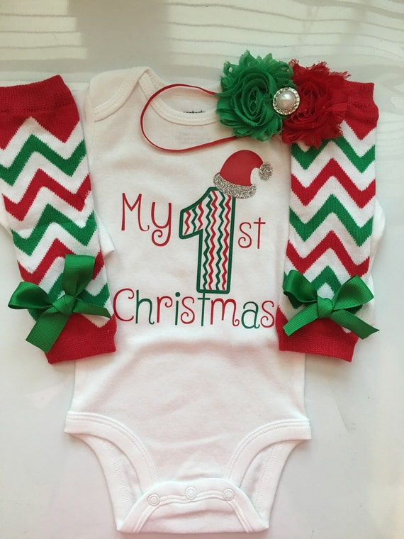 Like this item? - Baby Girl 1st Christmas Outfit Preemie Newborn And 3 Month