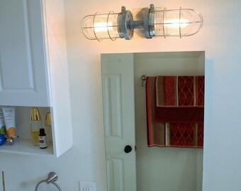 Bathroom Lighting Fixtures Ceiling bathroom light | etsy