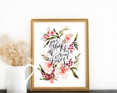 Scripture Print: Give Thanks