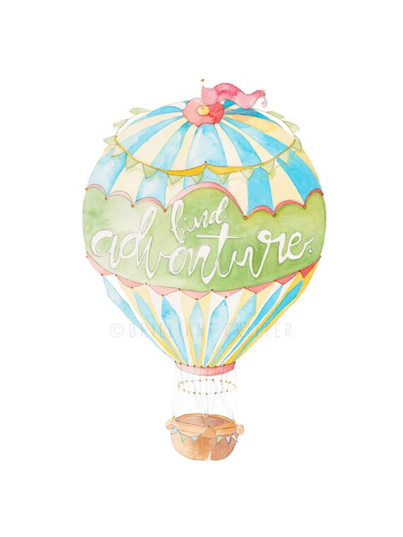 nursery wall art balloon nursery decor hot air balloon