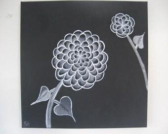 Moonflower Series Painting 4
