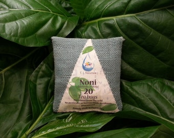Noni Leaf Tea (Morinda citrifolia) 20 Servings