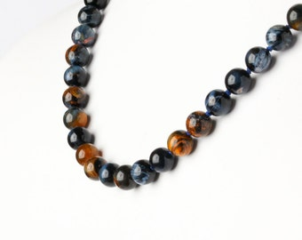 Natural Pietersite Beaded Necklace