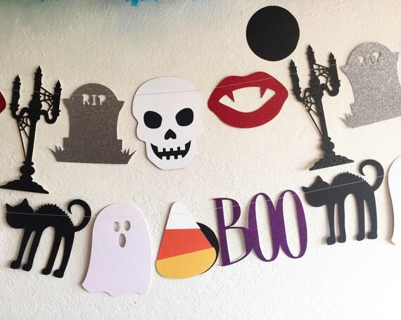 Halloween garland spooky or sweet for Halloween girlande