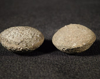A Small Perfectly Matched 100% Natural Pair of Boji Stones Found in Kansas! 30.8gr e