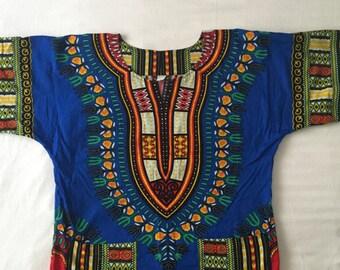 shirt tunic African print dashiki
