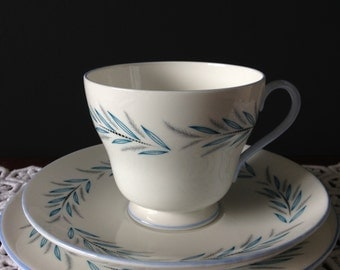 Vintage  Shelley Trio.//Cup//Saucer//Plate// Vintage china.