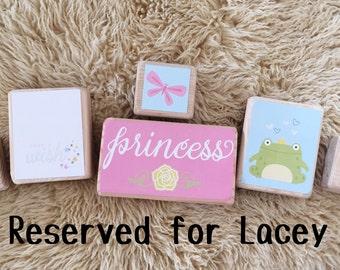 Princess blocks set of 6