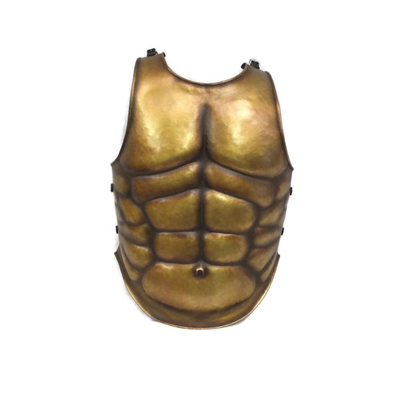 Larp Armor Muscle breastplate, cuirass, body armour, roman, greek, medieval armor, SCA, LRP
