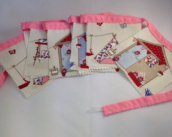 Bunting, playhouse bunting, playhouse decor, garden bunting, wall hangings, garland, bedroom decor