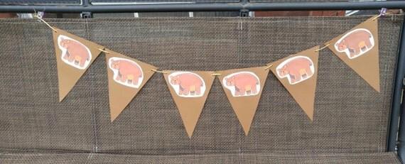 Birthday Banner of Woodland Bears