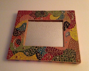 Abstract Mosaic Mirror  12x16