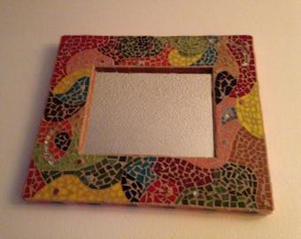 Abstract Mosaic Mirror  12x16