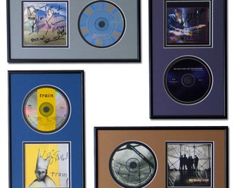 CD and Cover Art Display Frame - 11 Colors to Choose From