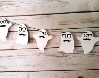 Hipster Ghost Garland