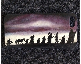 Hand Painted, Custom Design, Plastic, Snap-on case, Any theme