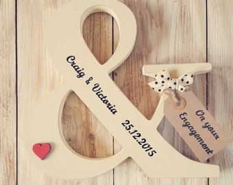 Wedding/Engagement Ampersand